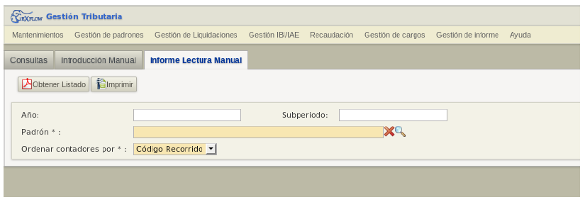Campos «Titular» y «Dirección»